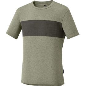 Shimano Transit T-Skjorte Herre Grønn/Svart